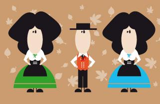 Animation d'automne