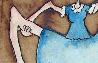 Danseuse à la jupe